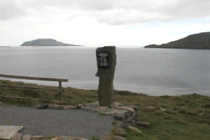Memorial to Catalina JX273 on Vatersay