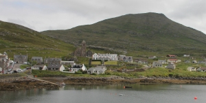 Our Lady Star of the Sea, Castlebay - from across the bay