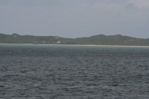 Barra Airport from the ferry