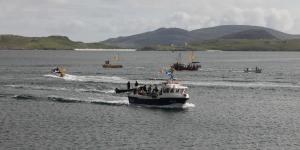 Boats in Castlebay
