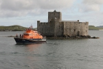 Kisimul Castle and the Barra Lifeboat