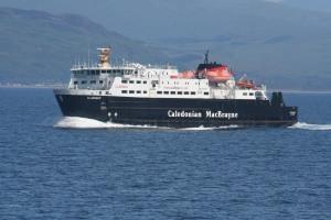 MV Clansman heading to Barra