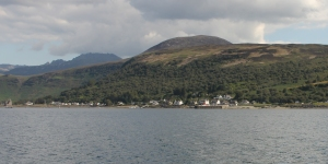 Approaching Lochranza