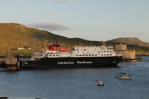 MV Clansman at Castlebay